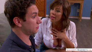 "MILF Alexis Fawx And Her Big Tits Help ""Nurse"" a Gangover thumb"