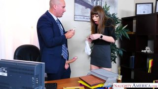 Alex Blake Gets Fucked In The Office thumb