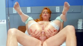 Penny Pax gets assfucked in reverse cowgirl position thumb