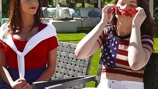 4th Of July and Jennifer Jacobs With Ariella Ferrara thumb