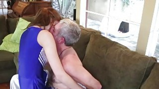 Molly Manson got her dick chant work on coach cock thumb