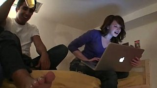 Boys & Girls having fun in their room thumb