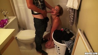 Mia Malkova and her GFs relax with dudes thumb