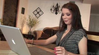 Delicious brown haired gal Jessi Palmer is pleased in oral way thumb