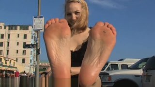 Very stinky feet pov thumb