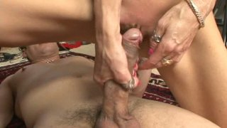 Slutty blond milf Crystal_White gets her pussy eaten and pounded in the dorm thumb