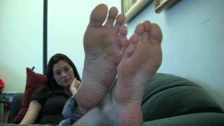 Kelsey' Candid Stinky Soles Part 9 thumb