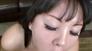 Tina Lee gets her face splattered with cum thumb
