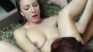 College Girls Licking Pussy At A Dorm Room Party thumb