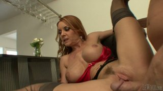 Whorish voluptuous MILF Janet Mason gets_her snapper pounded thumb