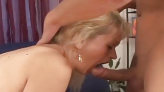 Lover and his blond hairy girl thumb