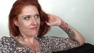 Mature hoe in stockings gets assets oil massaged thumb