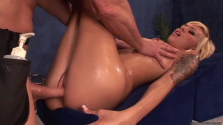 Emma Mae takes this hard dick deep in her wet slot thumb