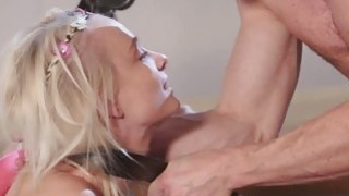 Horny chick Maddy Rose wanted to fuck huge dicks thumb