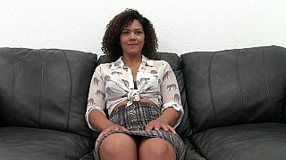 Hot casting for_a sexy black babe thumb