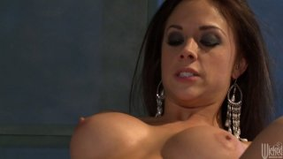 Hot and sexy Jessica Drake & Chanel Preston enjoys getting her quims fucked thumb