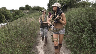 Jasmine Jae, Monique Alexander and Stella Cox are sexy soldiers on a mission thumb