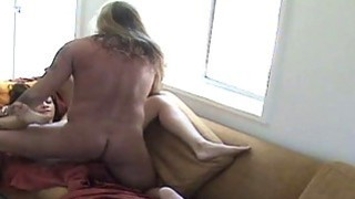 Cheating Brunette Housewife Getting Fucked On The Sofa thumb