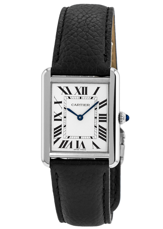 Cartier WSTA0028 Tank Solo Women s Watch   WatchMaxx com Cartier Tank Solo Large Size Leather Strap Women s Watch WSTA0028
