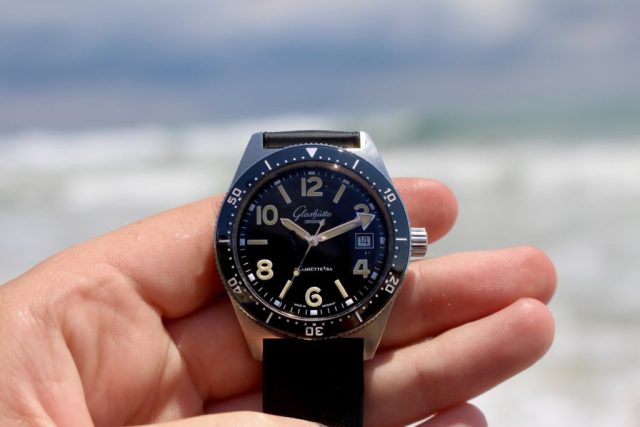 Watch in-hand photo