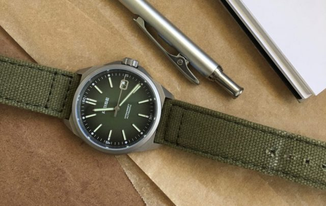Reise Resolute Titanium Automatic Field Watch Review