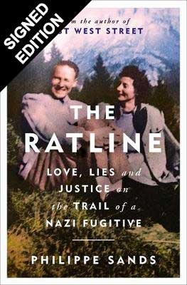 The Ratline: Love, Lies and Justice on the Trail of a Nazi Fugitive - Signed Exclusive Edition (Hardback)