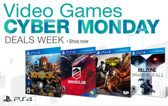 PlayStation 4 And Xbox One Games Cyber Monday Deals For US