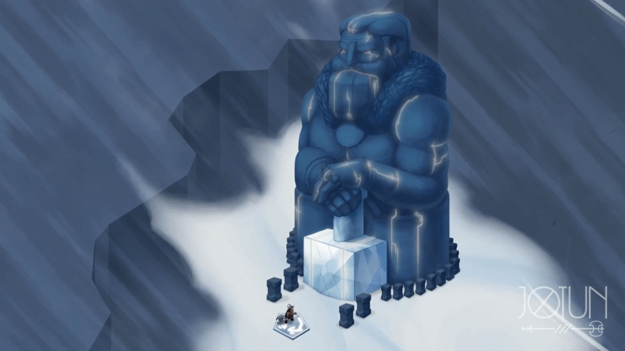 Image result for jotun game god shrines