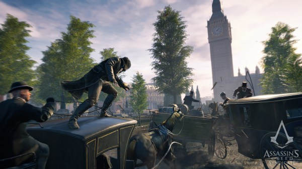Assassin's Creed Syndicate Cloth Physics Appears To Be ...