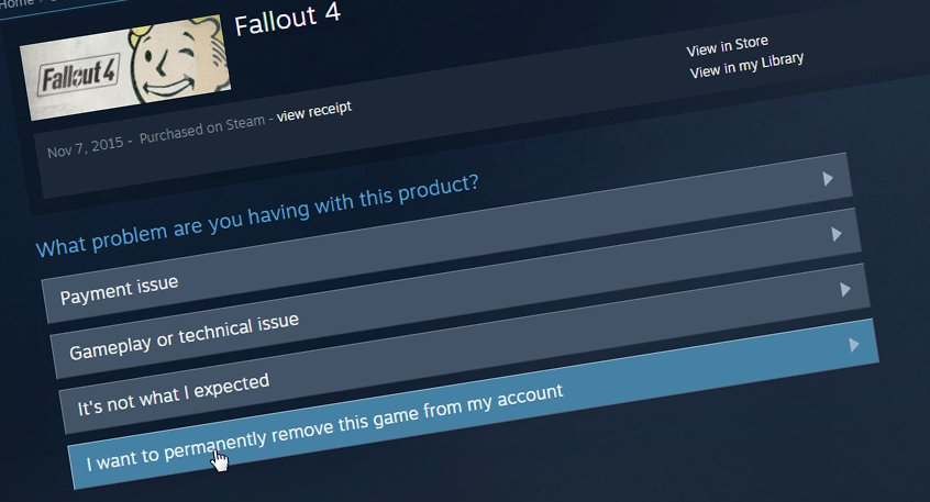 Valve Now Allows You To Permanently DeleteRemove Games From Your Steam Library Heres How To