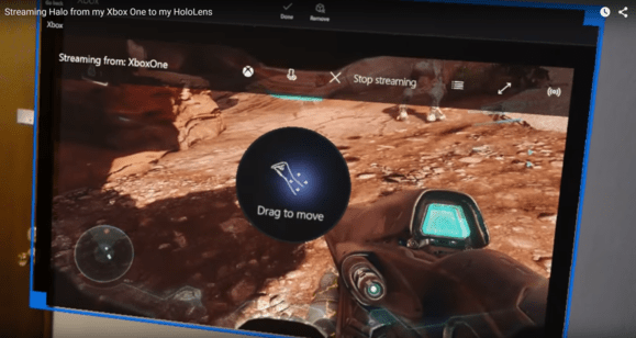 Xbox One Hololens Game Streaming Confirmed