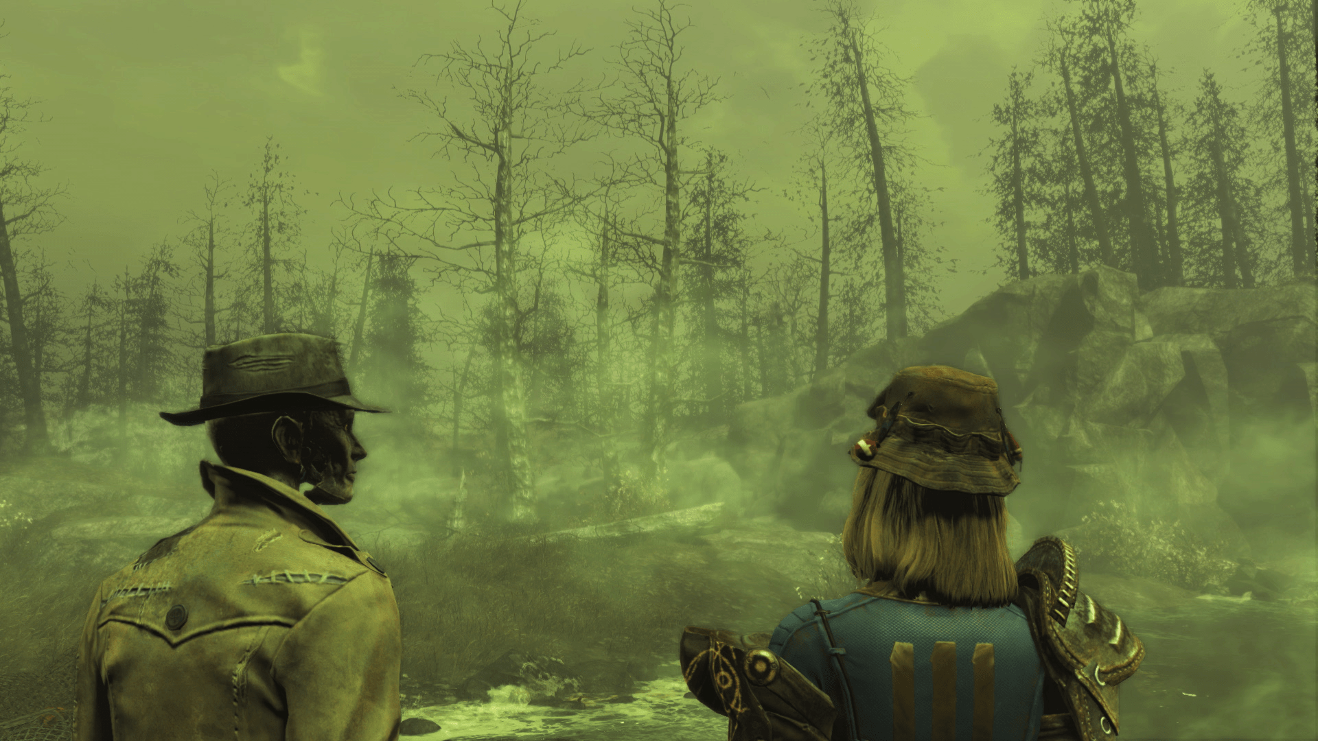 Fallout 4 Far Harbor s Locations Are  Unique And Memorable   Map Is     Fallout 4