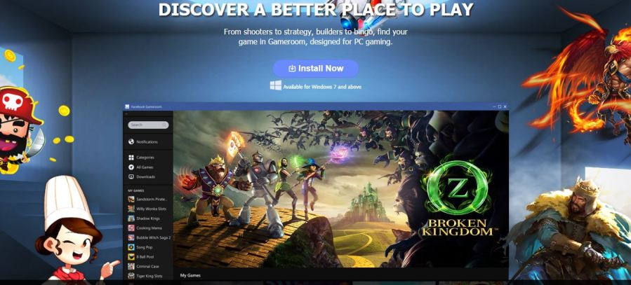 Facebook Gameroom Is A PC Gaming Platform That Looks Like Steam