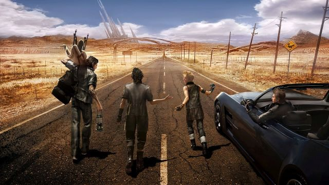Final Fantasy XV 01 On the Road A total of 4 DLCs to be released for the Final Fantasy XV, says Director of the game!