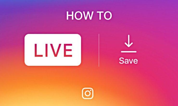 live Instagram video