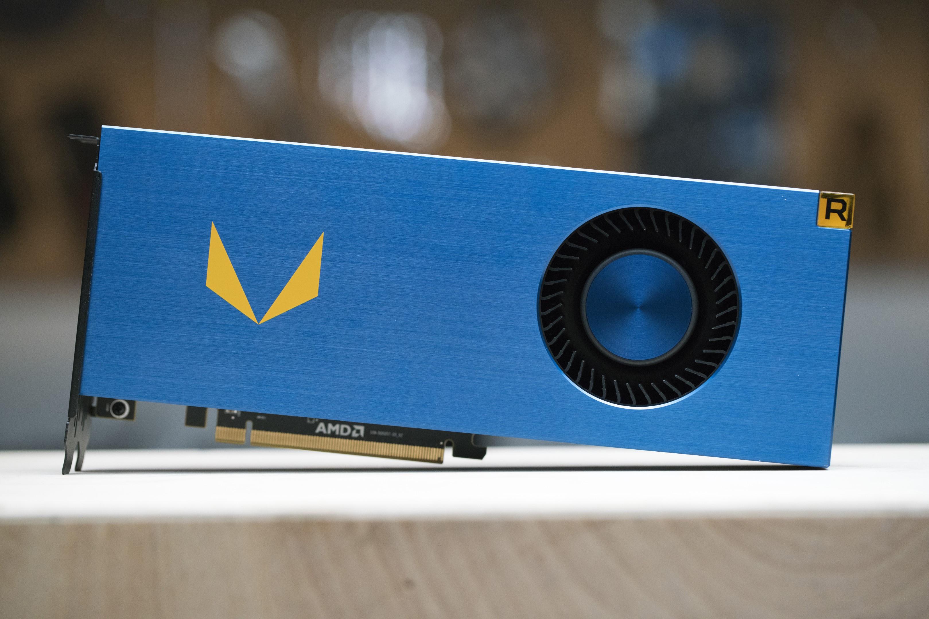 AMD Radeon Vega Frontier Edition 16 GB Graphics Card Previewed