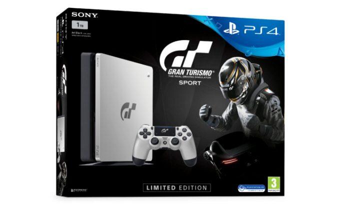 Limited Edition Gran Turismo Sport PlayStation 4 Slim 1TB