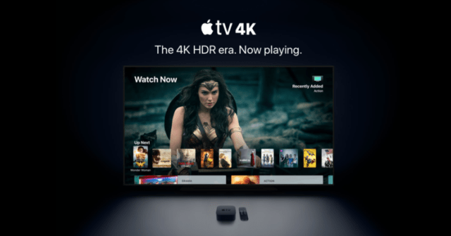 Apple TV 4K main 740x389 Apple TV now supports 4K content   The new upgrade makes it capable of playing 4K content with HDR support