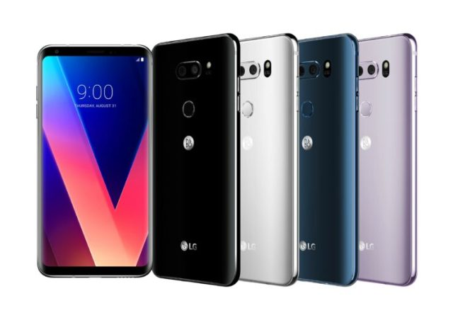 LG V30 official images 1 1 740x523 LG V30 announced to release V 30 in this week, laughing at Galaxy bezel less series