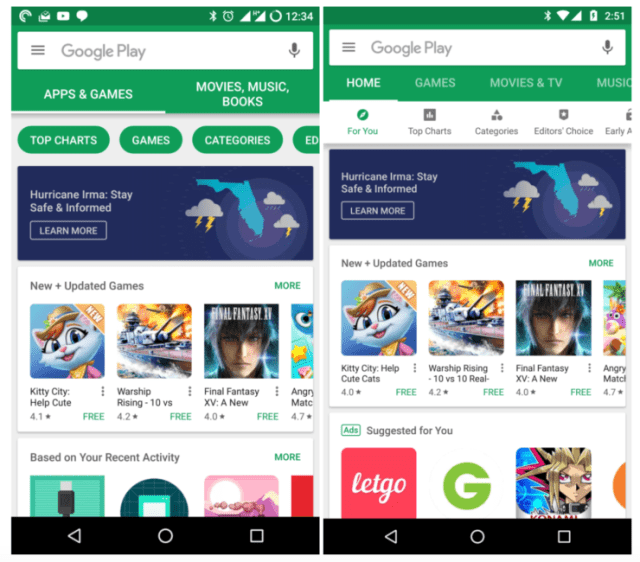 download google play store 740x650 Google released the latest version of Play Store APK for Android, improved UI