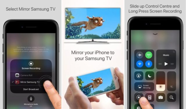 AirBeamTV 740x434 AirBeamTV introduce new app that allows a user to mirror iPhone directly to a Samsung TV