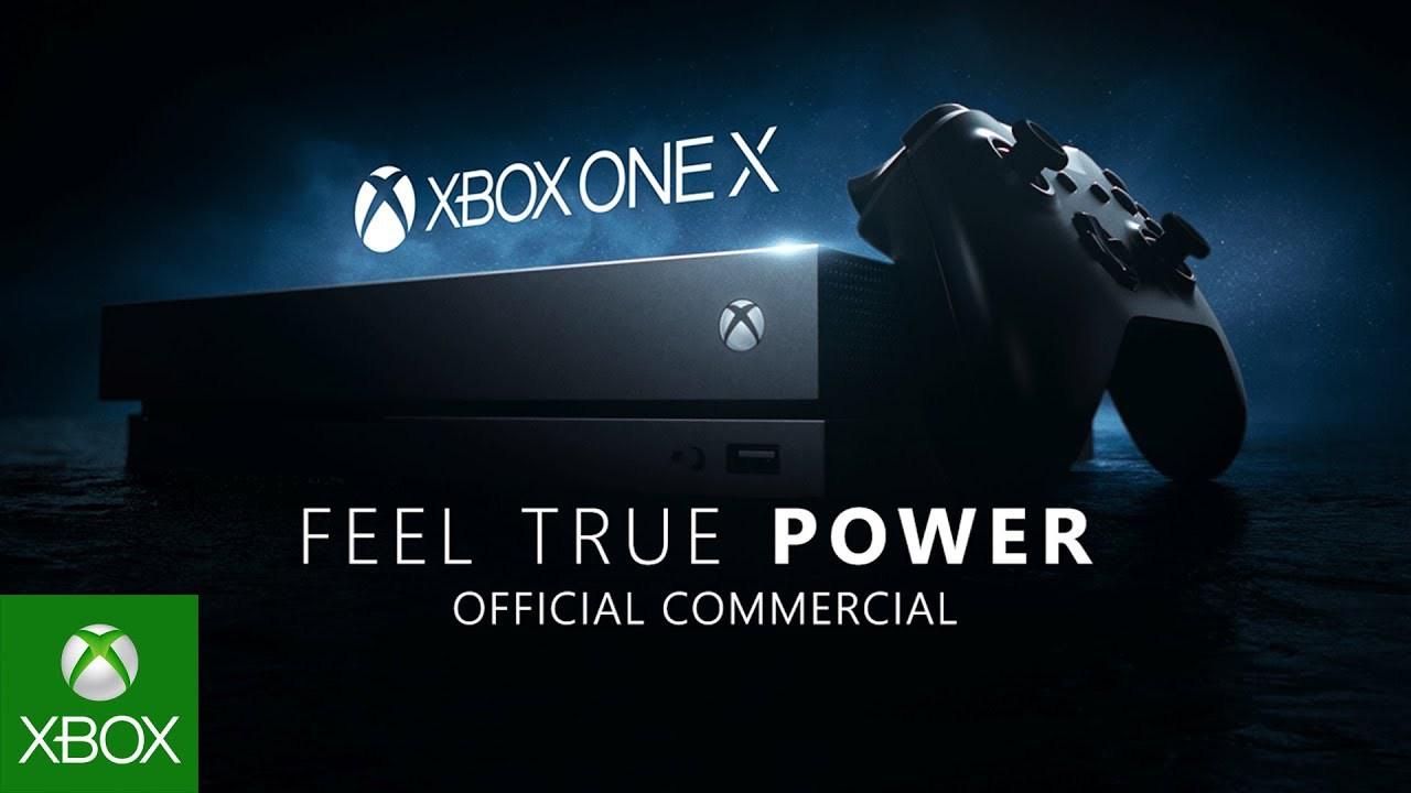 Microsoft Premieres Xbox One X TV Commercial Feel True Power