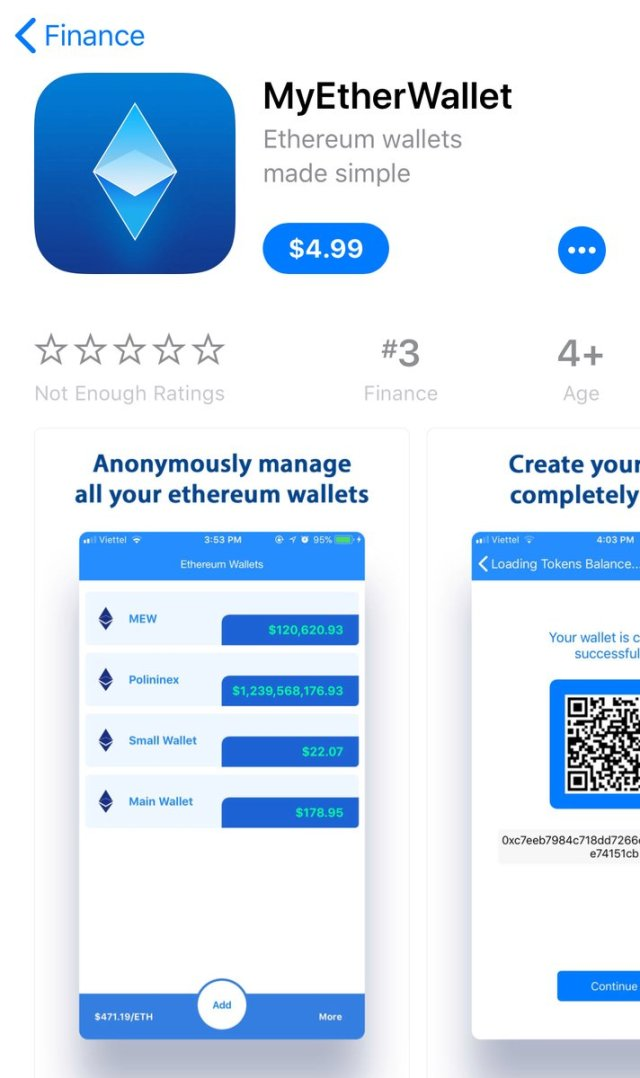 myether apple Apple App Store under the impression of fake cryptocurrency apps