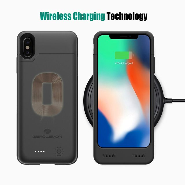 71XZMQLUBLL. SL1500  The iPhone X ZeroLemon battery case allows you to increase battery capacity twice times