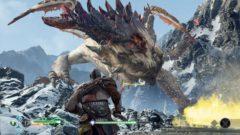 God Of War 4 Video Teaser Caught On Camera