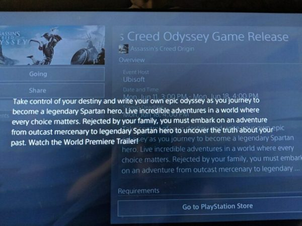 Assassin's Creed Odyssey Description Leaked on PSN ...