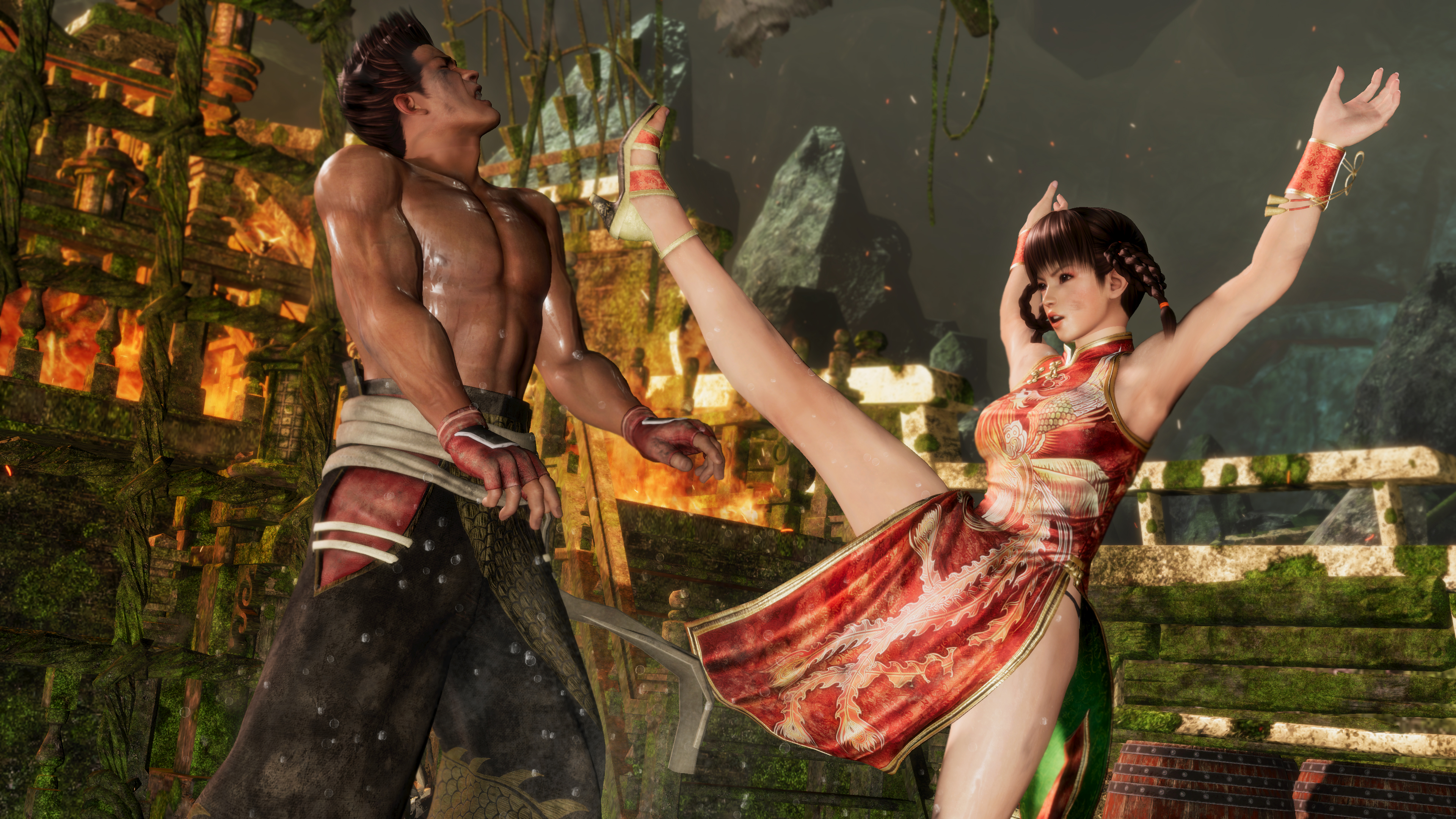 Dead Or Alive 6 Hands On Preview Less Boobs More Fighting