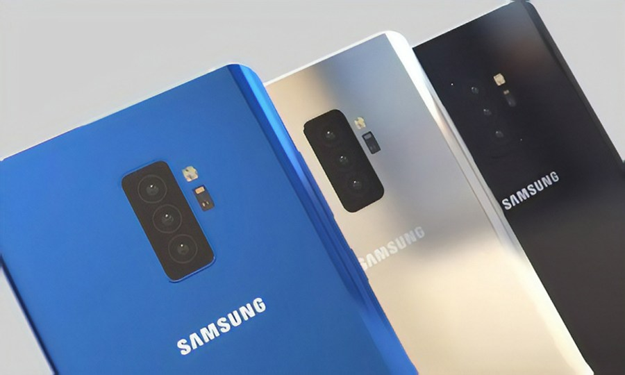 Samsung s Quadruple Camera Smartphone May Use All Lenses at Once to     Samsung s Quadruple Camera Smartphone May Use All Lenses at Once to Take  Photography to the Next Level