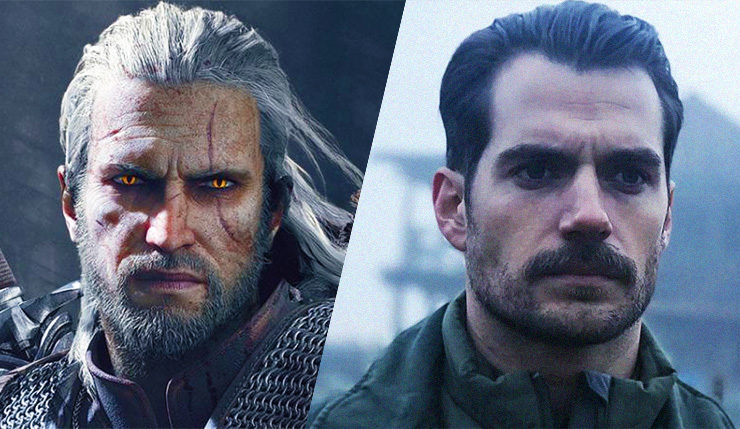 Image result for henry cavill the witcher netflix