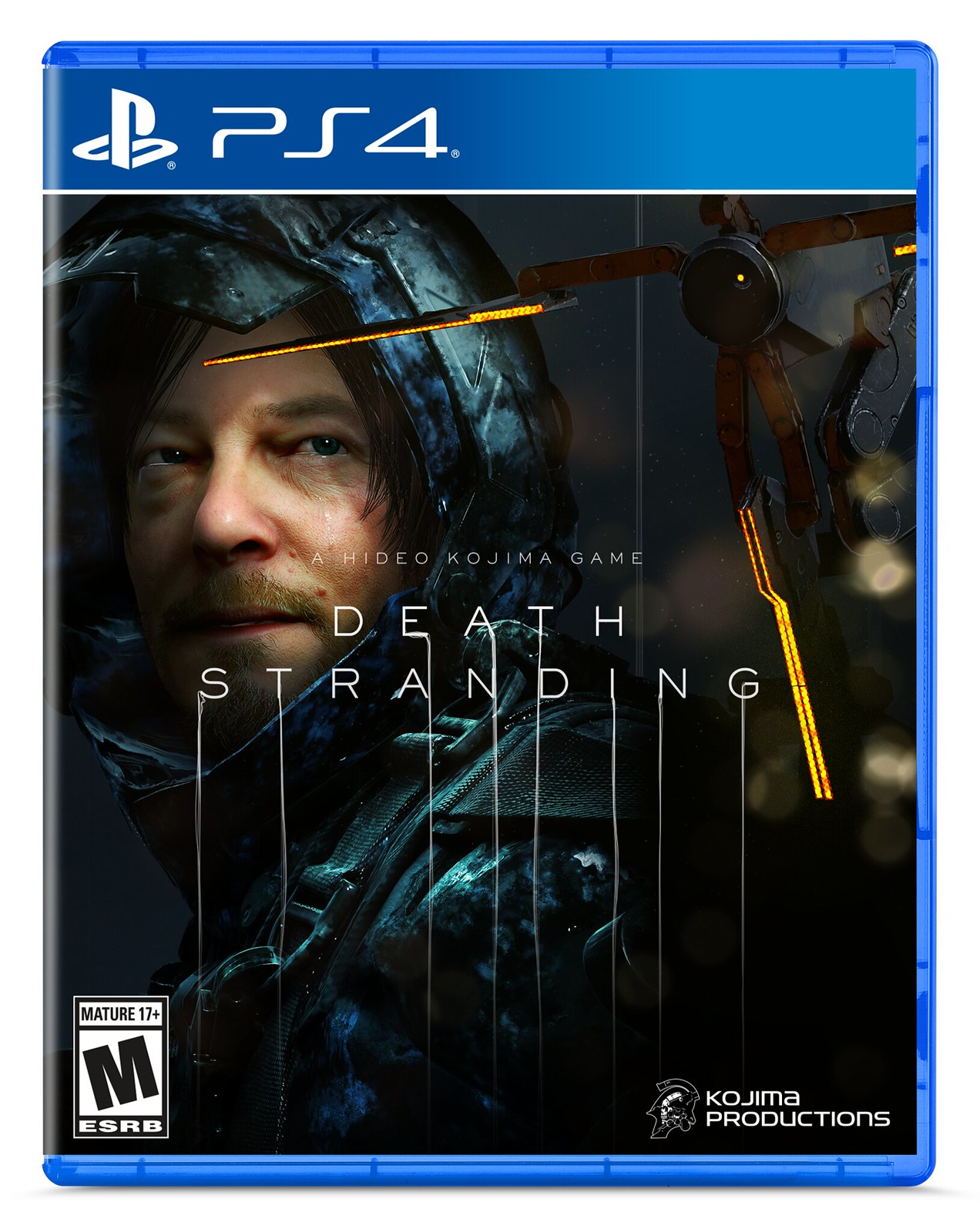 Kojima Reveals Death Stranding Box Art, Says He Picked Mads